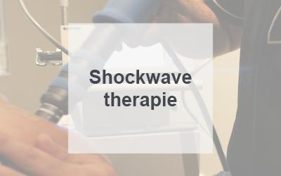 Shockwave therapie Harderwijk Hierden Nunspeet